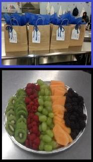 An example of Cafe Miller's catering presentation :-)